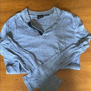 Armani Exchange Shirts - Armani exchange long sleeve